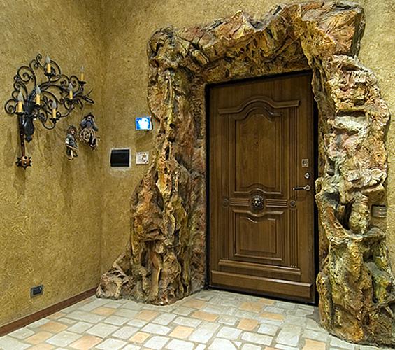Фото входная дверь своими руками