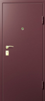 металлическая дверь с порошковым напылением южный округ установка