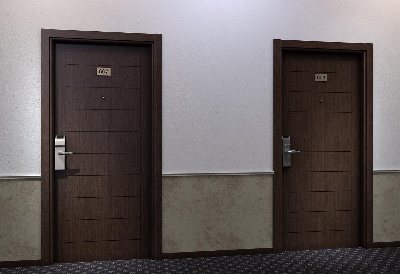 Номер на дверь своими руками фото